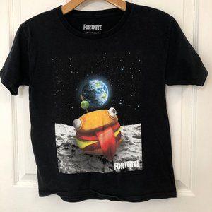 Fortnite Battle Royale Durr Burger On The Moon Tee